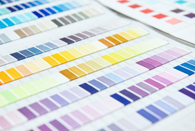 キャラクターの個性を際立たせる、多彩な色づかい。